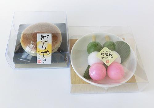ろうそく(どらやき・お団子)